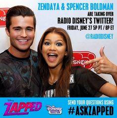 Zendaya & Spencer Boldman