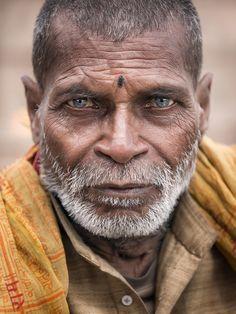 India - Varanasi - Street Portrait - Man - Sceptical View