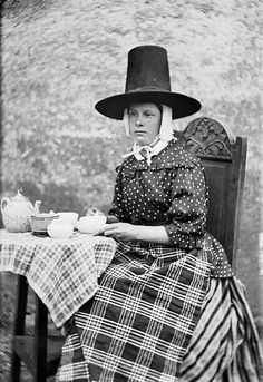 Welsh tea time. Love it. I used this for a tea party invitation.....lots of laughs.
