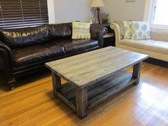 Coffee Table:Easy Diy Dark Brown Painted Hardwood Coffee Table To Make A Project Reclaimed Home Furniture DIY Coffee Table Plans How to Use Beautiful DIY Coffee Table Plans Living Furniture, Shabby Chic Furniture, Furniture Plans, Table Furniture, Rustic Furniture, Home Furniture, Office Furniture, Modern Furniture, Distressed Furniture