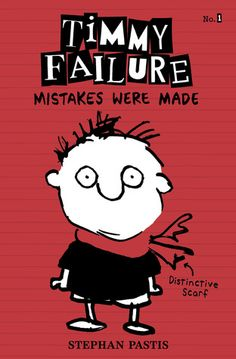 "Book Review: Timmy Failure Mistakes Were Made by Stephan Pastis. Review by There's a Book. This screams ""boys will love this book"" to me!"