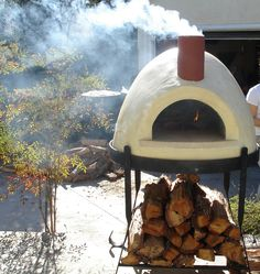 New pizza oven