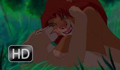 The Lion King - Simba & Nala fall in love [HD]