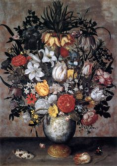 Ambrosius Bosschaert (I) - Flowers in a Chinese Vase - WGA02655.jpg