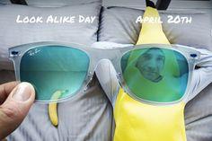 Look Alike Day // April 20 // #Wayfarer RB 4210 646/55 // http://neverhi.de/eqts