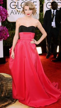 Top Red Carpet Dresses Worn By Taylor Swift