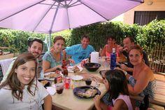 Sábado de BARBACOA, con el Equipo Lazy !!Que gran familia !!  www.anavelazquez.es