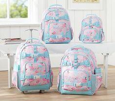 Mackenzie Pink Fairy Rolling Backpack #pbkids