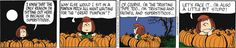 Peanuts by Charles Schulz | October 31, 2013 - Great Pumpkin