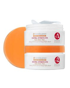 Dr. Dennis Gross Skincare Extra Strength Alpha Beta Peel. The miracle product! Brightener, blackheads and acne gone! Redness reducing, skin tone evener and softener! I've only used five days and already have significantly different skin. Love, Andi