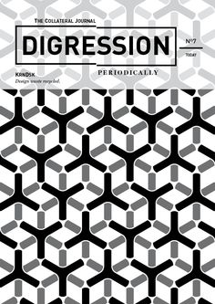 DIGRESSION PERIODICALLY on Behance Design waste recycled, personal work.