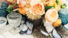Beachy Accoutrements | Here's how to pull off an unforgettable beach wedding with advice from industry experts