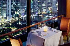 *Equinox Restaurant at Swissotel - can also do a lunch buffet, amazing views, food and dessert bar!