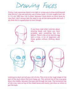 Draw faces tutorial