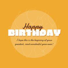 Fully editable Birthday Card Createer #love #card #heart #feelings #greeting #happy