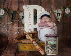 Custom Crochet Baby Baseball Hat... pic idea for boy