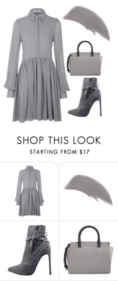 """""""Cloudy grey day"""" by soplu123 ❤ liked on Polyvore featuring Jane Iredale, Yves Saint Laurent and MICHAEL Michael Kors"""