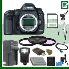 Canon EOS 5D Mark III Digital SLR Camera   32GB Green's Camera Bundle 3 *** Find out more about the great product at the image link.