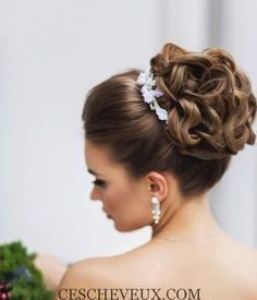 Best Wedding Hairstyles Updo With Crown Hair Pieces 19 Ideas Hairdo Wedding, Wedding Hair And Makeup, Bridal Hair, Hair Makeup, Crown Hairstyles, Bride Hairstyles, Elegant Hairstyles, Latest Hairstyles, Curly Hairstyles