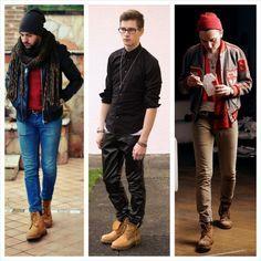 moda de botas para hombre - Buscar con Google