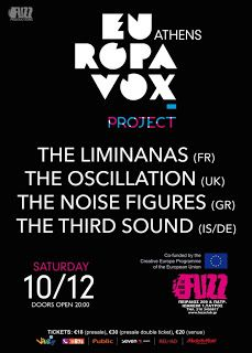 NYXTOΣΚΟΠΙΟ: Το πρώτο Europavox Festival Athens  στο Fuzz Live ... http://nuxtoskopio.blogspot.gr/2016/12/europavox-festival-athens-fuzz-live.html