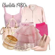 """Charlotte La Bouff 1980s"" by jess-d90 on Polyvore"