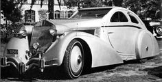 Rolls-Royce Jonckheere Aerodynamic Coupe II Concept, returning 77 years later