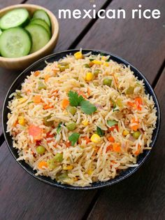 mexican rice recipe | how to make restaurant style authentic mexican rice with step by step photo and video recipe. indian cuisine deals with several dishes prepared from the cooked and uncooked rice for lunch and dinner. but at same time, indian cusine has been exposed to many other cuisine and embraced its dishes accordingly. mexican rice is one such flavored recipe which is prepared with vegetables and served for lunch or dinner.