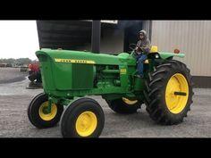 Old John Deere Tractors, Jd Tractors, John Deere 2010, Classic Tractor, Farming, Antique, Vintage, Green, Youtube