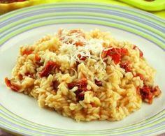 Rissotto de tomates secos y parmesano