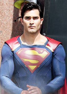 """Superman from """"Supergirl"""" series."""