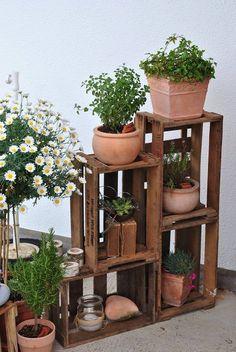 Wau! Mit diesen Ideen machen Sie aus alten Kisten stilvolle Dekoration! - Seite 4 von 12 - DIY Bastelideen