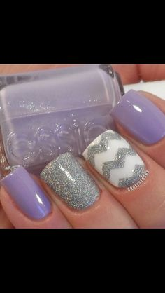 Potential Wedding nails- just mint green and with rhinestones everywhere!