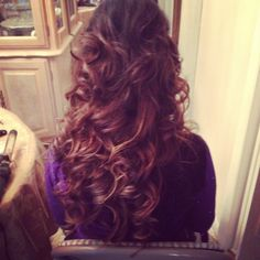 All down curls
