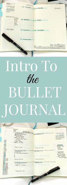An Introduction to Bullet Journaling
