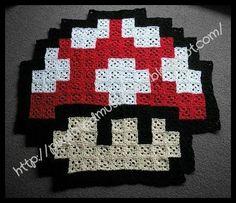 Mantas pixeladas a crochet   Aprender manualidades es facilisimo.com