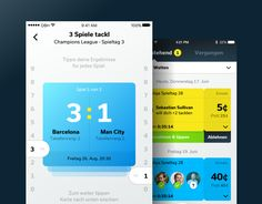 """Popatrz na ten projekt w @Behance: """"tackl social betting app"""" https://www.behance.net/gallery/44408399/tackl-social-betting-app"""