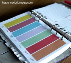 Filofax PERSONAL size Personal Organisation Printable Set includes 4 page layouts!