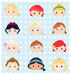 http://kraftynook.blogspot.com/2016/02/tsum-tsum-princesses-fan-art.html