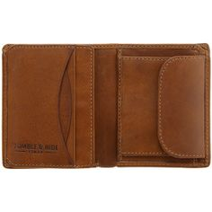 Tumble & Hide Vertical Two Fold Mens Leather Wallet - £35.00 available from www.kubi.co.uk - Christmas presents birthday gifts father's day teenage sons brothers teenagers men male gifts hard to buy for husbands boyfriends friends males dads