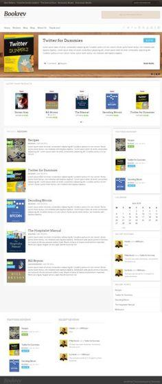 ThemeIsle BookRev : Book Reviews WordPress Theme http://www.wordpressthemereviewdesk.com/themeisle-bookrev-review/ #WordPress