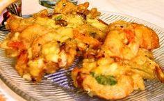 Aprenda a preparar a receita de Tempurá de legumes