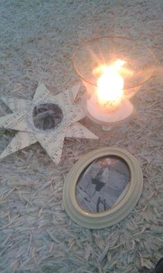 Kynttilä ja talvi aihe