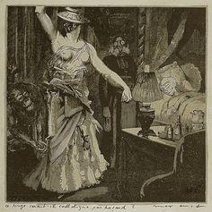Max Ernst | La Femme 100 Têtes | 1929  davidcharlesfoxexpressionism.com #maxernst #lafemme100têtes #surrealism #collage #surrealart #abstractart #graphicnovel