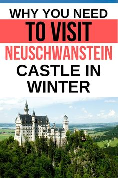 Looking for a beautiful destination to visit? Get inspired at this Disney-inspired castle in Germany. Find out why you need to visit the iconic Neuschwanstein castle in winter for the best pics. Places Around The World, Travel Around The World, Around The Worlds, Neuschwanstein Castle, Tips For Traveling Alone, Another Part Of Me, Snowy Forest, Germany Castles, Beautiful Castles