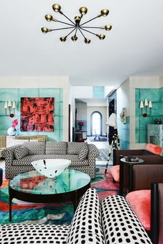 House tour: LA-based artist worked with Vogue Living guest editor to redesign her home into a colourful work of art. LINK IN BIO FOR STORY. Hollywood Homes, West Hollywood, Open House Plans, Vogue Living, Open Plan Living, Trends, Color Of The Year, Home Improvement Projects, Oeuvre D'art