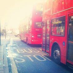 #bus #stop #London
