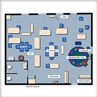 Pre k classroom layout correlations classroom lists for Preschool classroom layout maker