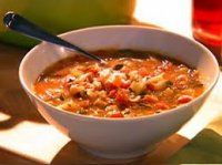 Lose 5 Pounds Every 7 days Just By Eating Delicious Fat Burning Soups.No Exercise. No ridiculous diet rules don't even change your eating habits! Just replace one or two meals per day with a delicious fat burning soup and start shrinking! Tuscan Vegetable Soup Recipe, Veggie Soup, Tuscan Soup, Vegetable Soups, Vegetable Stock, Diet Recipes, Cooking Recipes, Healthy Recipes, Delicious Recipes
