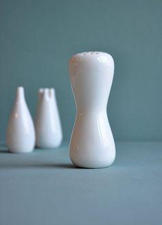 Ceramics  : Stig Lindberg sugar salt and pepper shakers.